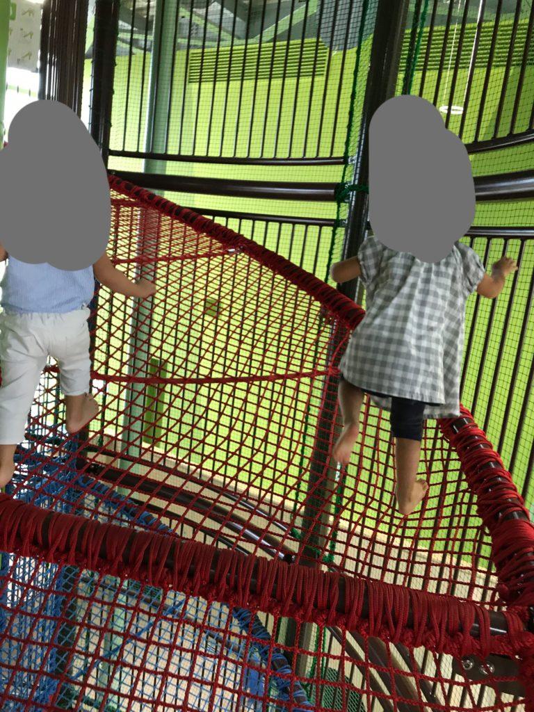 らせん階段風のネット