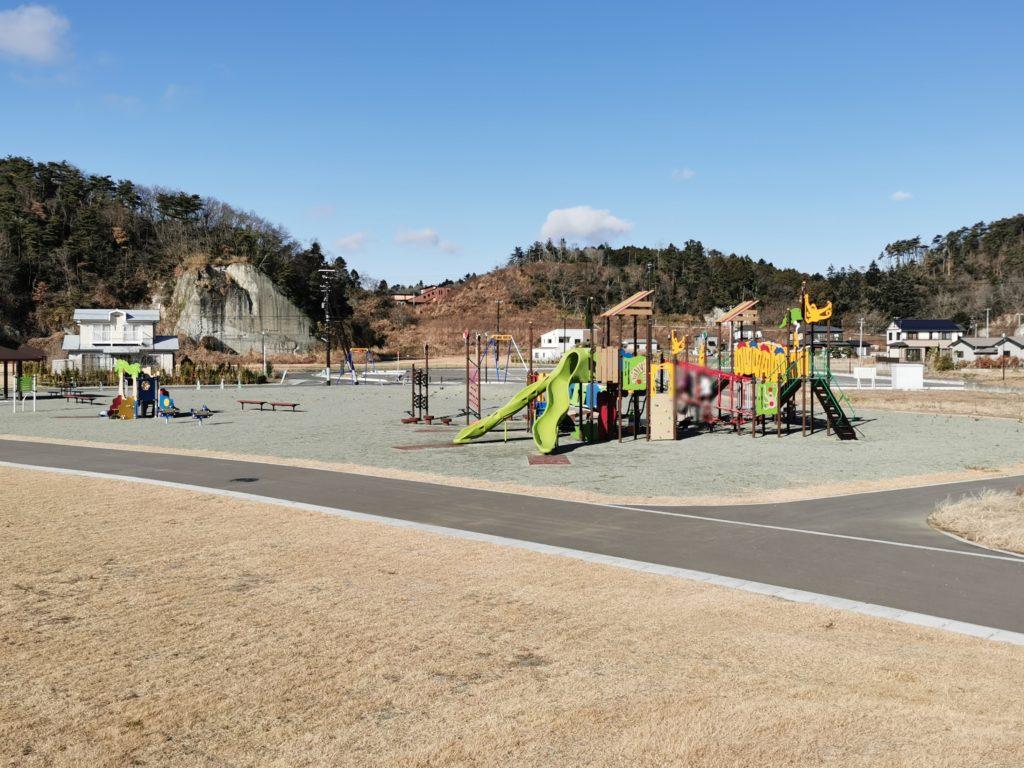 奥松島運動公園子供広場の遊具