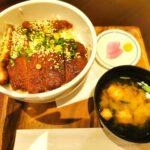 ワンコインランチ ソースカツ丼
