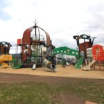 嶋遺跡公園の遊具