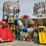 加瀬沼公園の新しい遊具冒険の丘