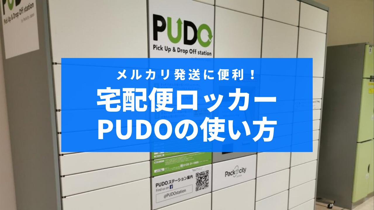 PUDOの使い方サムネイル