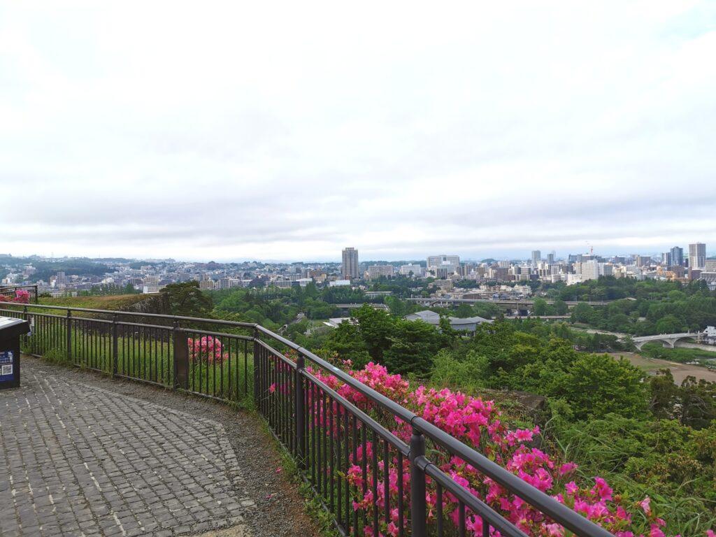 仙台城跡展望台